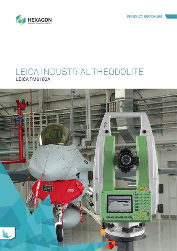 Leica TM6100A Industrial Theodolite Brochure
