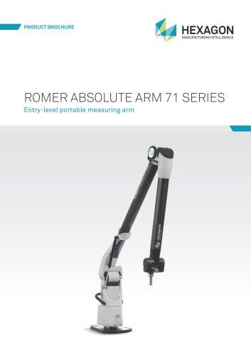 ROMER Absolute Arm 71 Series Brochure