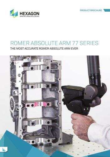 ROMER Absolute Arm 77 Series Brochure
