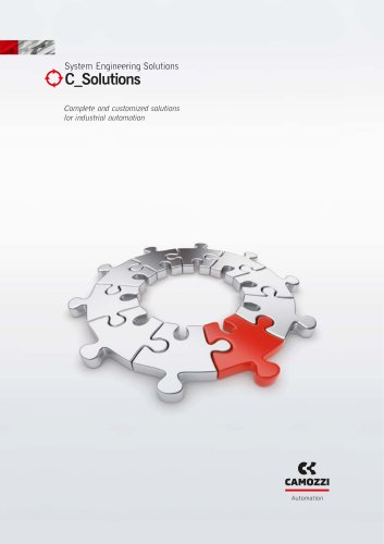 Complete and customized solutions for industrial automation