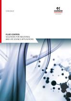 Fluid Control - Solutions for industrial and life science applications EN