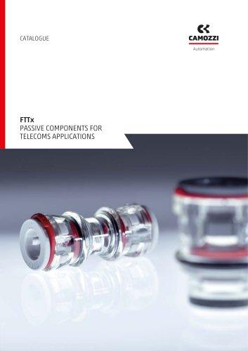 FTTx passive components for telecoms applications EN