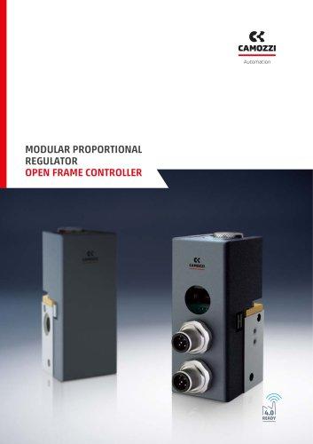 Open frame controller modular proportional regulator EN