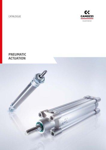 Pneumatic actuation