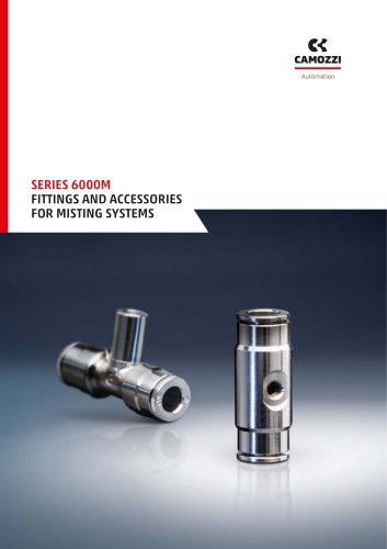 Series 6000 Fittings and accessories for misting systems EN