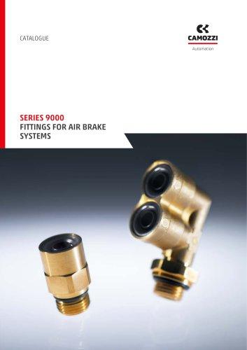Series 9000 fittings for air brake systems EN