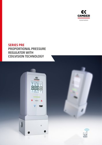 Series PRE proportional pressure regulator with coilvision technology EN