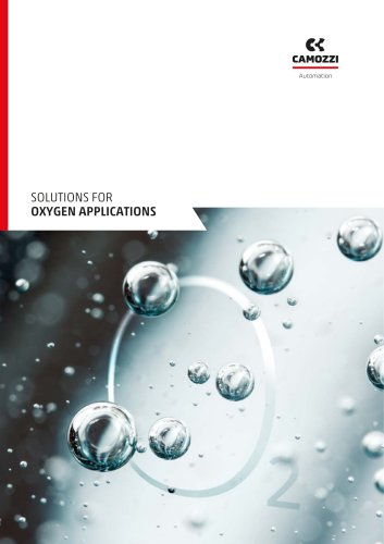 Solutions for oxygen applications