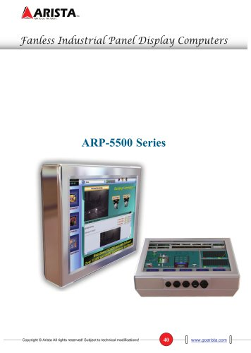 ARP-5500 Series NEMA 4X Sealed All-In-One LCD Computer Series
