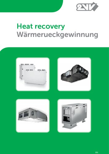 Heat Recovery Units