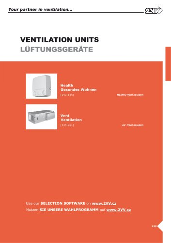 Ventilation units_technical catalogue