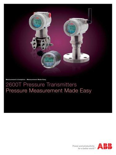 2600T Pressure Transmitters