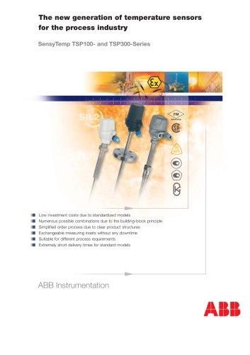 SensTemp TSP Series - Temperature Sensors for the Process Industry
