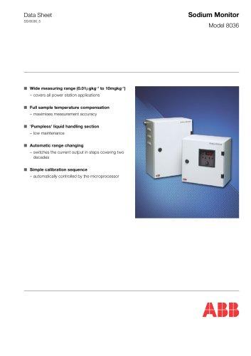 Sodium Monitor Model 8036