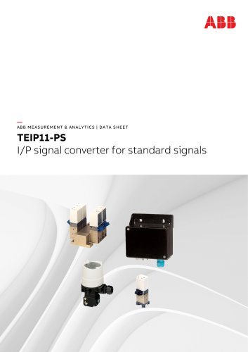 TEIP11-PS I/P signal converter for standard signals