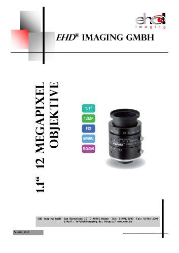 "1.1"" 12 MP CBC lenses"