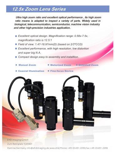 12.5X Macro Zoom Lens system