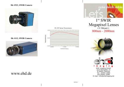 """EHD 1"""" SWIR Lenses"""