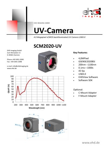 EHD SCM2020-UV