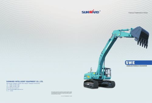 SUNWARD Excavator - SUNWARD INTELLIGENT EQUIPMENT CO ,LTD