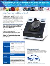 Quebec® Darkfield Digital Colony Counter Brochure