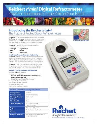 r2mini digital refractometer