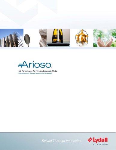 Arioso Membrane Composite Air Filter Media