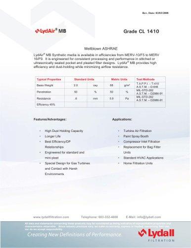 LydAir® MB CL 1410