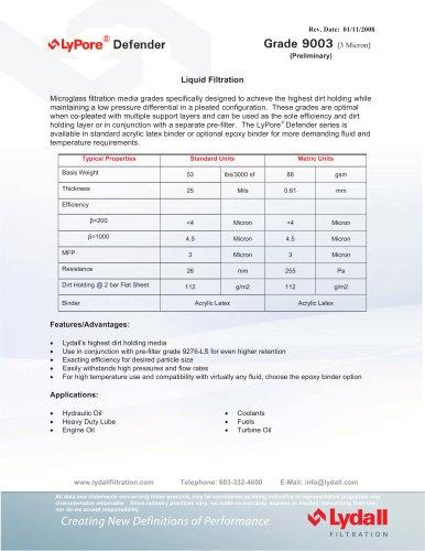 LyPore® Defender 9003