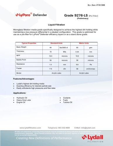 LyPore® Defender 9276-LS