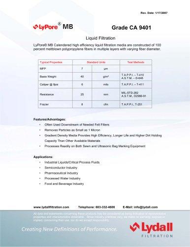 LyPore® MB CA 9401