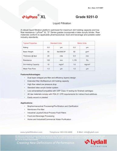 LyPore® XL 9251-D