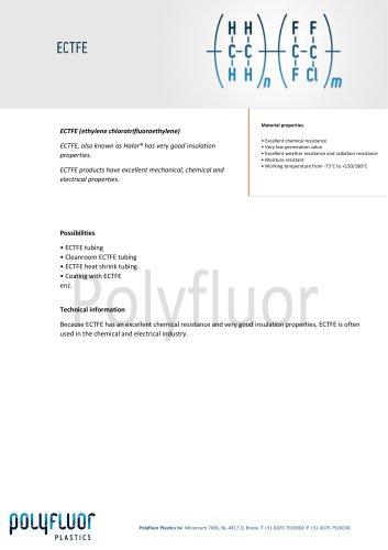 Datasheet material: ECTFE