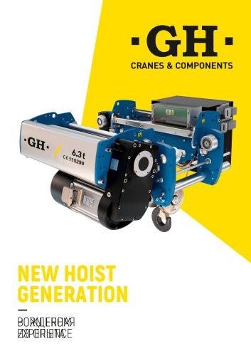 New Hoists Generation until 12.5t