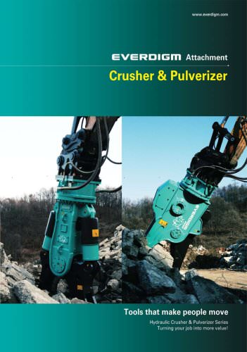 Attachment Crusher & Pulverizer Catalogue