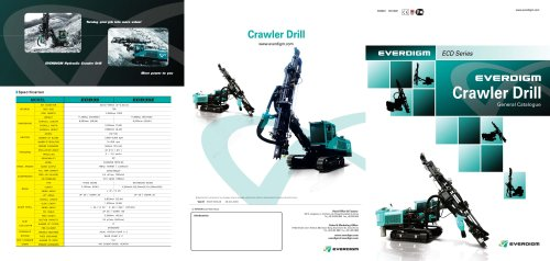 Crawler Drill Catalogue