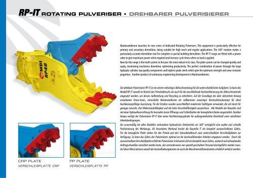 RP-IT ROTATING PULVERISER