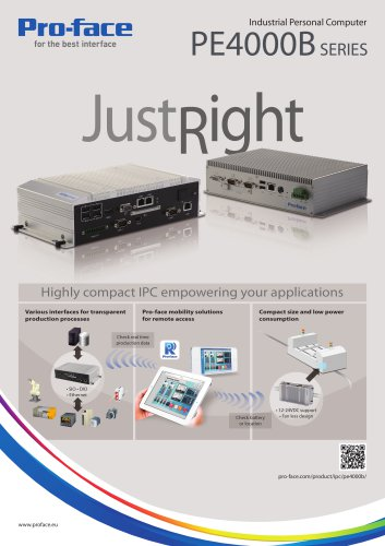 Industrial PC PE4000B Series