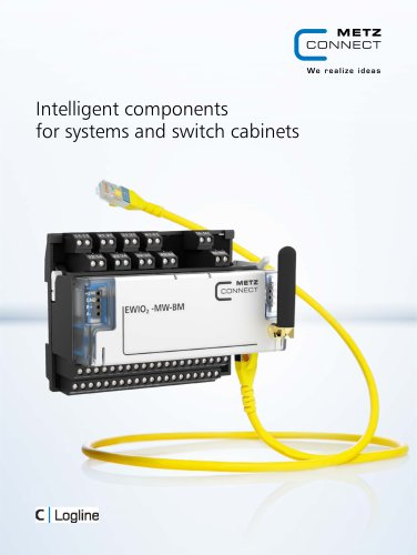 C Logline - Intelligent components for systems and switch cabinets
