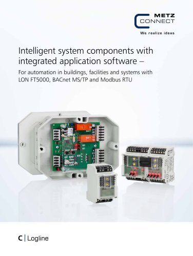 C Logline - Intelligent system components with integrated application software
