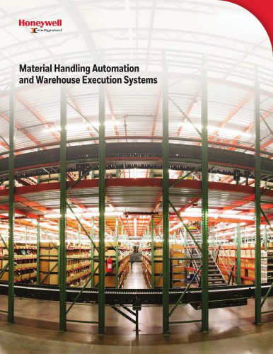 Material Handling Automation and Warehouse Execution Systems