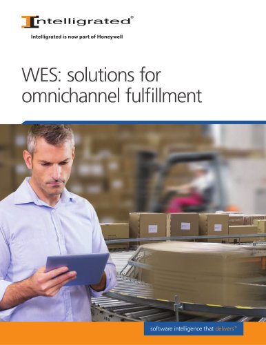 WES: solutions for omnichannel fulfillment