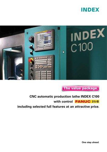 CNC automatic production lathe INDEX C100