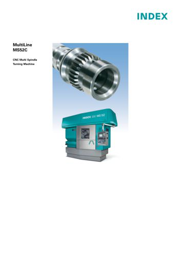MultiLine MS52C CNC Multi Spindle Turning Machine