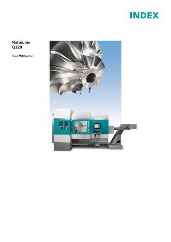 RatioLine G220 Turn-Mill Center