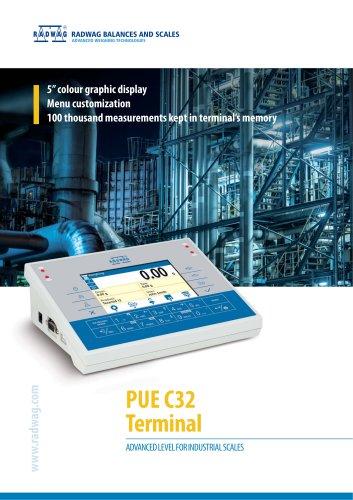 PUE C32 Terminal