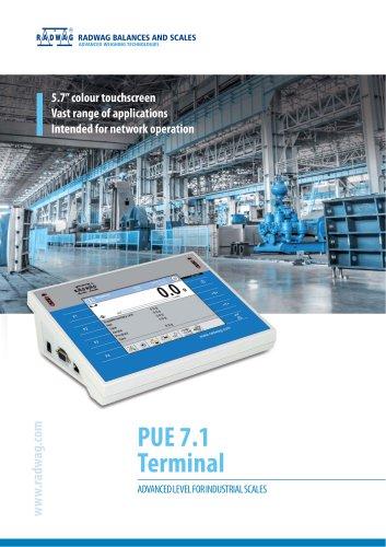 PUE71 terminal