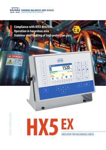 Terminal HX5 EX