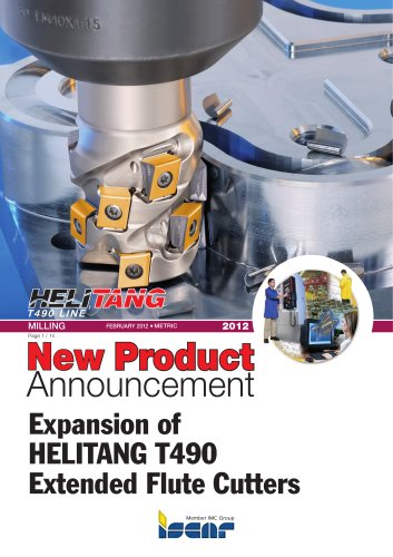 Expansion of HELITANG T490 Extended Flute Cutters