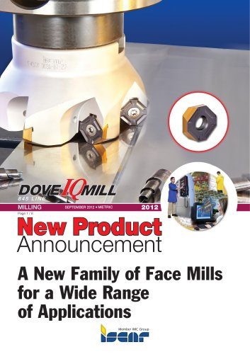 A New Family of Face Mills for a Wide Range of Applications